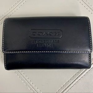 💯% Authentic Coach Small Leather Wallet